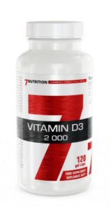 7Nutrition Vitamin D3 2000 iu