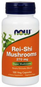 Now Foods Rei-Shi Mushrooms 270 mg