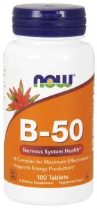 Now Foods Vitamin B-50