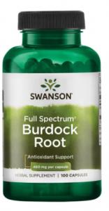 Swanson Burdock Root 460 mg