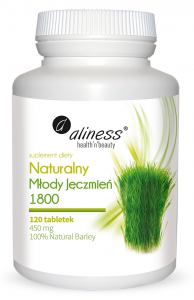 Aliness Natural Young Barley 1800