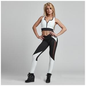 Gym Provocateur Leggings Sexy Black & White