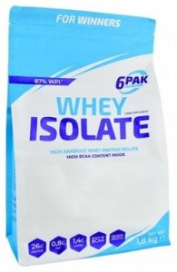 6Pak Nutrition Whey Isolate Proteins