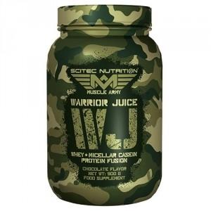 Scitec Nutrition Warrior Juice Kazeīns Proteīni