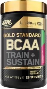 Optimum Nutrition Gold Standard BCAA Aminoskābju Maisījumi Aminoskābes Treniņa Laikā