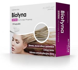 Activlab Biotin Vitamīni Un Minerālvielas