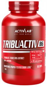 Activlab Tribuactiv B6 Magnijs ZMA Tribulus Terrestris Speciālie Produkti