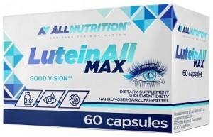AllNutrition LuteinAll Max Luteīns un Citi Produkti Acīm Garšaugi Vitamīni Un Minerālvielas