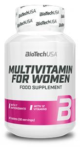 Biotech Usa Multivitamin For Woman Multivitamīni Sievietēm