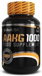 Biotech Usa AAKG 1000 L-arginine Nitric Oxide Boosters Pre Workout & Energy Amino Acids