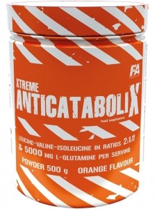 Fa Nutrition AnticataboliX Bcaa L-Glutamine Post Workout & Recovery Amino Acids