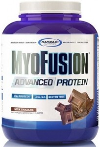 Gaspari Nutrition MyoFusion Advanced Протеиновый Kомплекс Казеин Изолят