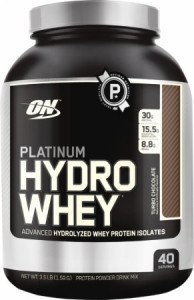 Optimum Nutrition Hydro Whey Isolate Wpi Proteins