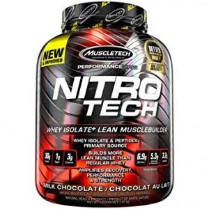 MuscleTech Nitro-Tech Izolāts Proteīni