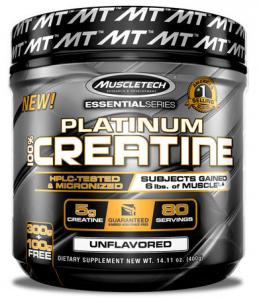 MuscleTech Platinum 100% Creatine Kreatīns