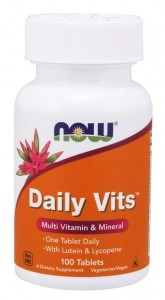 Now Foods Daily Vits Multivitamīni