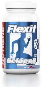 Nutrend Flexit Gelacoll Locītavām Un Saitēm Vitamīni Un Minerālvielas Sievietēm