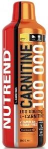Nutrend Carnitine 100000 L-Karnitīns Tauku Dedzinātāji Aminoskābes