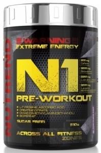 Nutrend N1 Pre-Workout Pirms Treniņa Un Еnerģētiķi