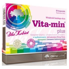 Olimp Nutrition Vita-Min Plus for Women Multivitamīni