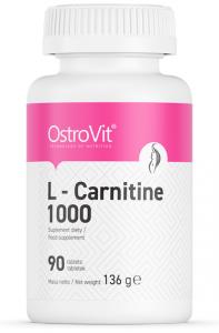 OstroVit L-Carnitine 1000 L-Karnitīns Tauku Dedzinātāji Sievietēm Aminoskābes