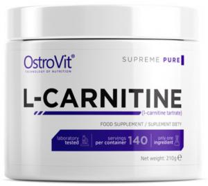 OstroVit L-Carnitine Powder L-Karnitīns Tauku Dedzinātāji Aminoskābes