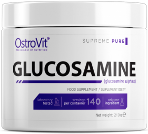 OstroVit Glucosamine Powder Locītavām Un Saitēm Vitamīni Un Minerālvielas