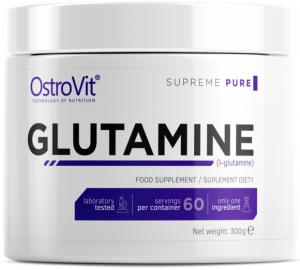 OstroVit Glutamine L-Glutamīns Pēc Slodzes Un Reģenerācija Aminoskābes
