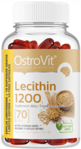 OstroVit Lecitīns 1200 Garšaugi Vitamīni Un Minerālvielas
