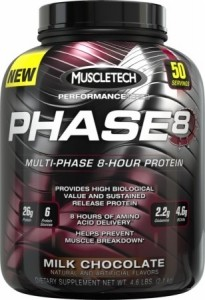 Muscletech Phase 8 Casein Isolate Wpi Proteins