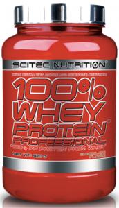 Scitec Nutrition 100% Whey Protein Professional Proteīni