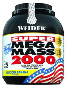 Weider Mega Mass 2000 Гейнеры