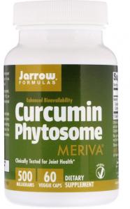 Jarrow Formulas Curcumin Phytosome with Meriva  500 mg