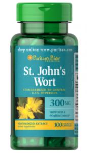 Puritan's Pride St. John's Wort Standardized Extract 300 mg