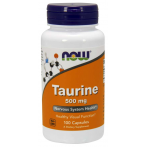 Now Foods Taurine 500 mg L-Таурин Аминокислоты