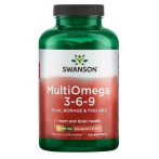 Swanson MultiOmega 3-6-9 Flax Borage & Fish Oils