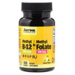 Jarrow Formulas Methyl B-12 1000mcg  Methyl Folate 400 mcg