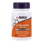 Now Foods L-Tyrosine 500 mg L-Tirozīns Aminoskābes