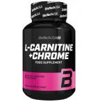 Biotech Usa L-Carnitine + Chrome L-Karnitīns Svara Kontrole