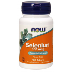 Now Foods Selenium 100 mcg