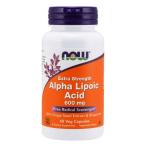 Now Foods Alpha Lipoic Acid 600 mg Контроль Веса