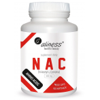 Aliness NAC N-Acetyl-L-Cysteine 500 mg Aminoskābes