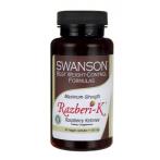 Swanson Maximum Strength Razberi-K 500 mg Aveņu Ketoni Svara Kontrole