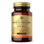 Solgar Sublingual Methylcobalamin Vitamin B12 1000 mcg