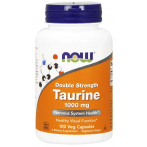 Now Foods Taurine 1000 mg L-Таурин Аминокислоты