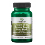 Swanson Grape Seed, Green Tea & Pine Bark Complex