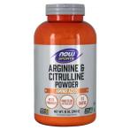 Now Foods Arginine & Citrulline L-Arginīns L-Citrulīns Aminoskābes Pirms Treniņa Un Еnerģētiķi