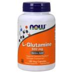 Now Foods L-Glutamine 500 mg L-Glutamīns Aminoskābes