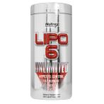 Nutrex Lipo-6 Unlimited Tauku Dedzinātāji