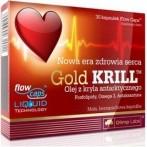 Olimp Nutrition Gold Krill Zivju Eļļa, Lineļļa Un Omega Taukskābes Vitamīni Un Minerālvielas